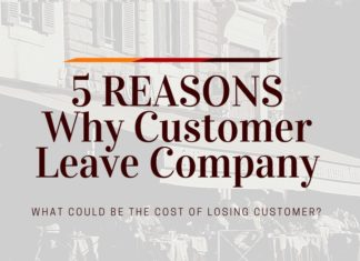 customer leave company