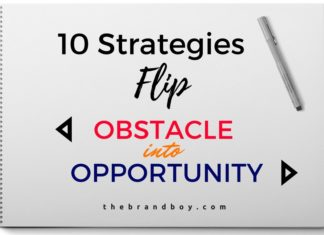 Flip Obstacle into Opportunity