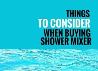 things to consider buying shower mixer