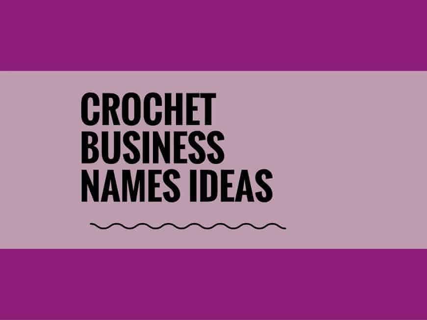 crochet business names
