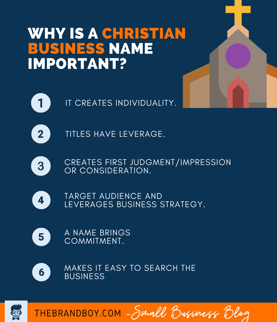 why christian business name important