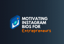 instagram bios for entrepreneur