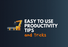easy use productivity tips