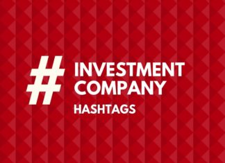 hashtags for investment COmpany