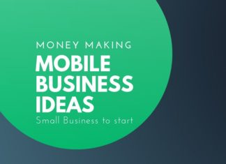 money making mobile business ideas