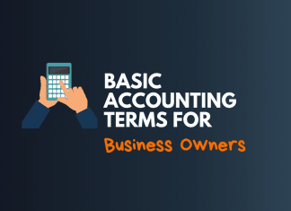 basic accounting terms for business