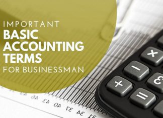 basic accounting terms for businessman