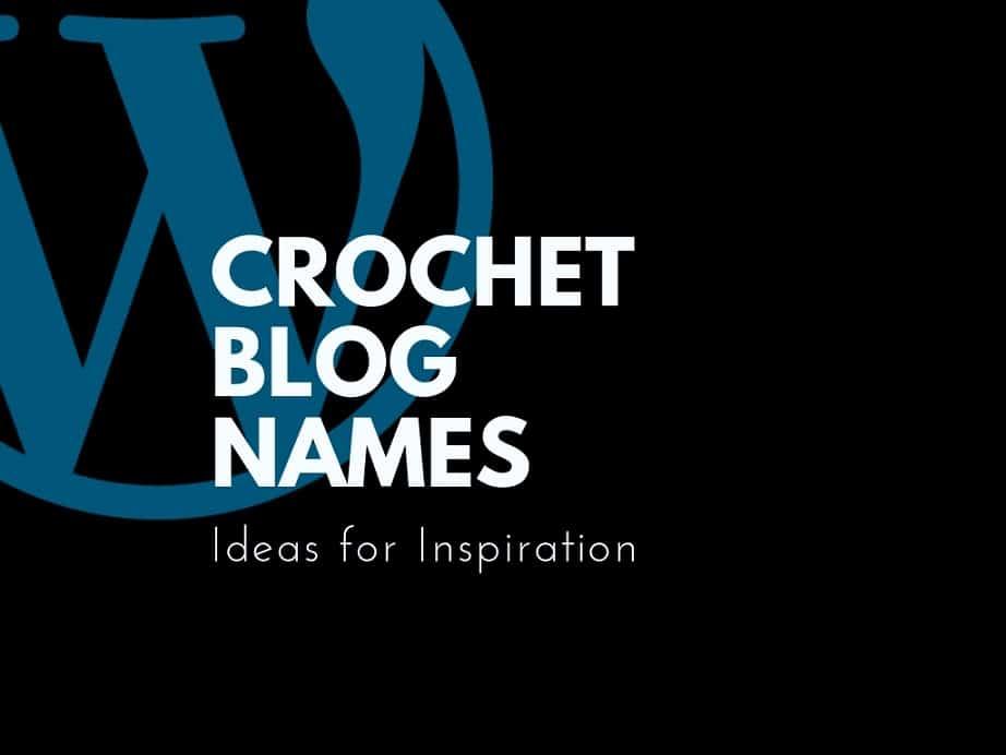 crochet blog names
