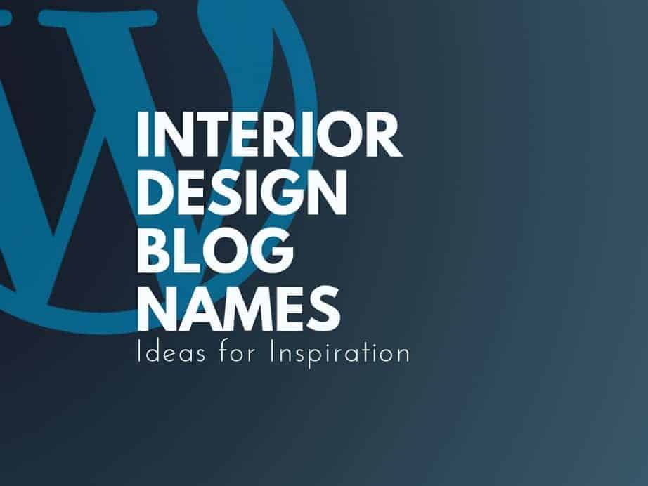 101 Top Interior Design Blogs And Pages Names Thebrandboy