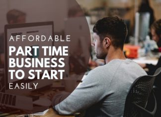 part time business to start today