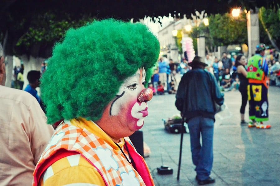 start party clown business at home