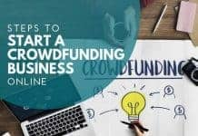 start crowdfunding business online