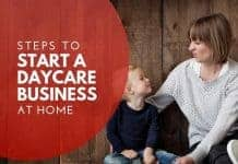 start daycare business at home