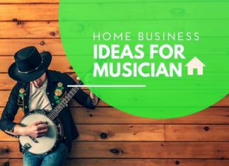home business for musician