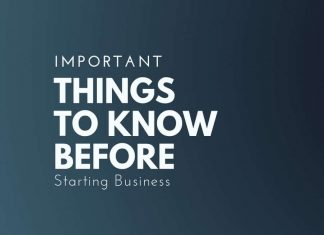 thiings to know before starting business
