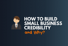 build small business credibility