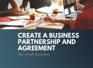 create business partnership and agreement