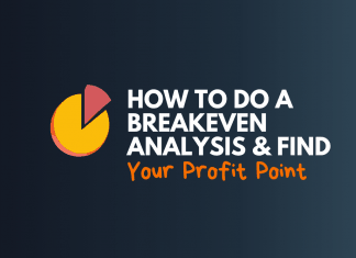 how to do break even analysis