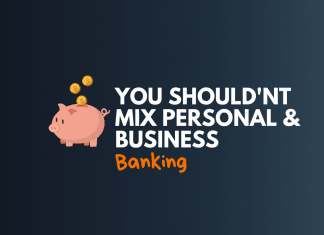dont mix personal and business banking
