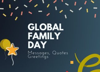 global family day messages