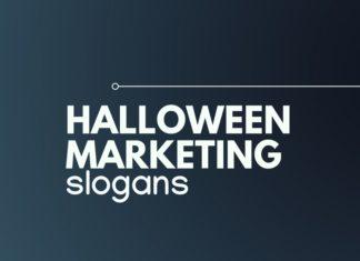 Halloween marketing slogans