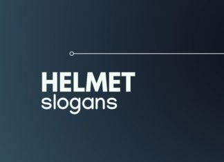 helmet slogans