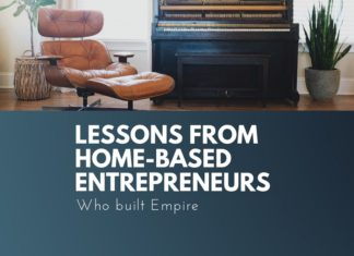lessons from home based entrepreneurs
