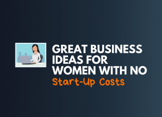 business ideas for women with no startup Cost