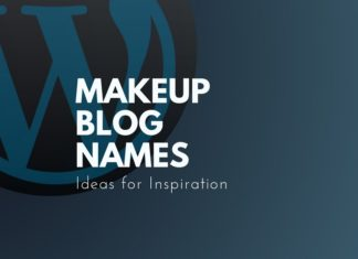Catchy Ideas for Makeup blog names