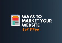 market your website for free