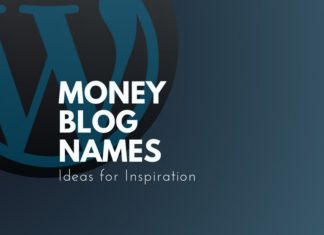 money blog names