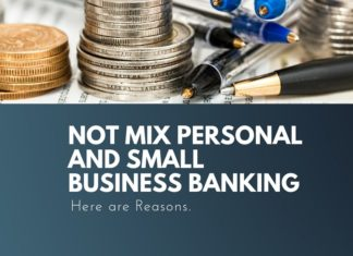 not mix personal and business banking