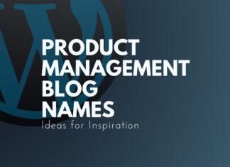 product management blog names