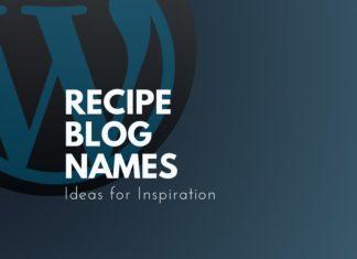 recipe blog names