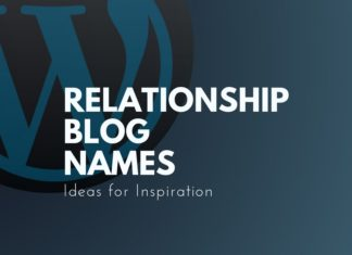 relationship blog names