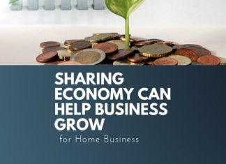 sharing economy helps grow home business