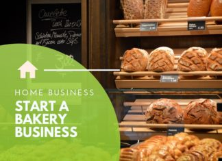 start bakery business from home