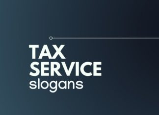 tax service slogans