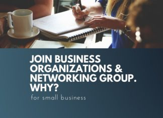 why join business organization and group
