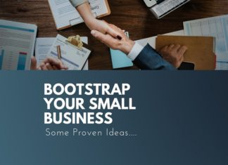 bootstrap your small business