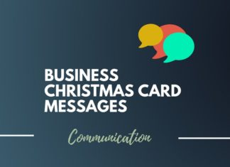 Business Christmas Card Messages