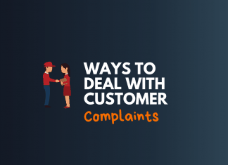 deal with customer complaints