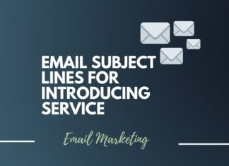 Catchy Email Subject Lines for Introducing Services