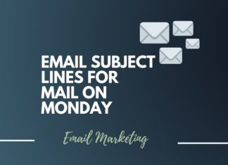 Catchy Email subject lines for Sending mails on Monday
