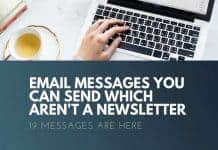 emails which are not newsletter