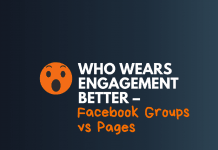 facecook groups vs facebook page better engagement