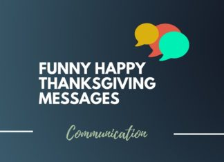 Funny Thanksgiving messages