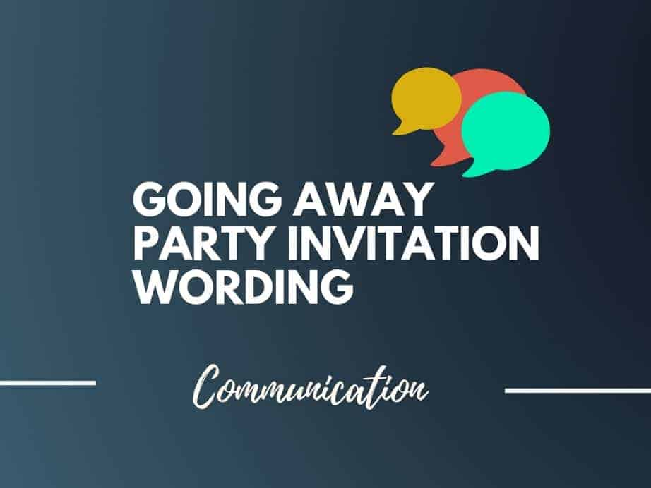35 Best Going Away Party Invitation