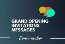grand opening invitation messages