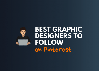 graphic designers follow on pinterest